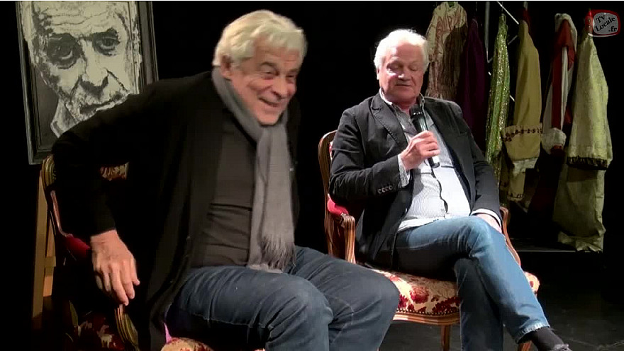 """Emission Théâtre """"Les Rencontres Acteurs Artisans"""" Acte 1 avec Jacques Weber l'invité de Franck CABOT DAVID de l'école Acteurs Artisans @TvLocale_fr"""